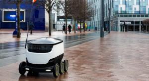 Roboty dostawcze z pozwoleniem na ruch uliczny, ale...