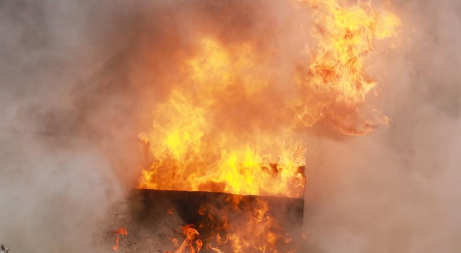 Płonący tankowiec już w strefie ekonomicznej Japonii