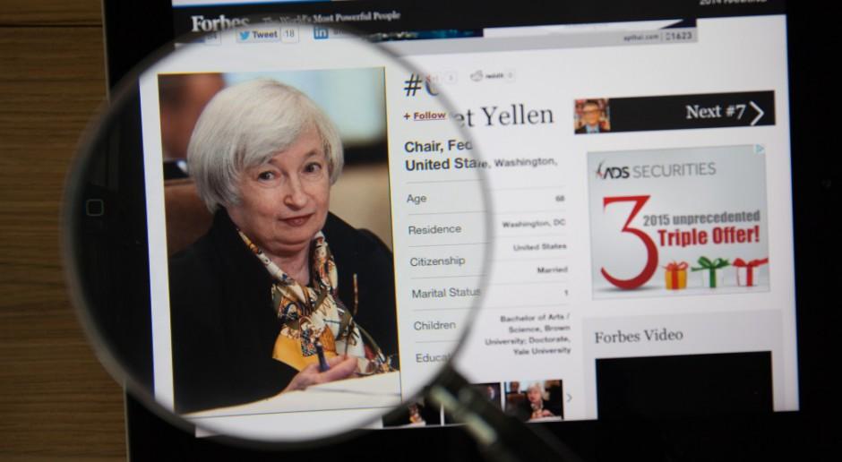 Janet Yellen pierwszą kobietą w fotelu ministra finansów USA