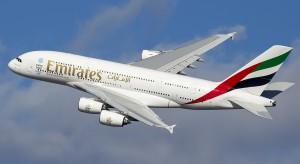 Nietypowe życzenia świąteczne od pilota Airbusa A380. Choinka o długości kilkuset kilometrów