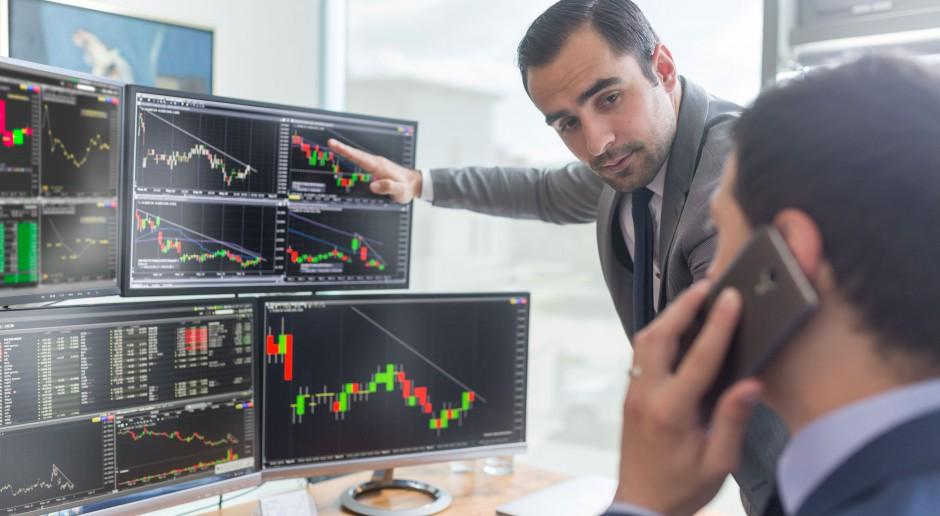 Europejskie giełdy rozpoczęły tydzień od spadków