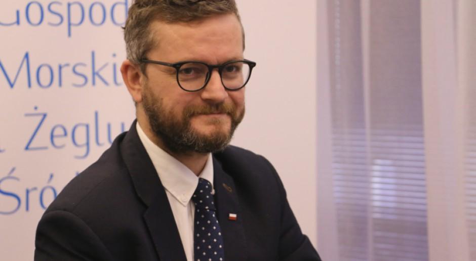 Wiceminister: gospodarka morska jednym z filarów polityki gospodarczej rządu