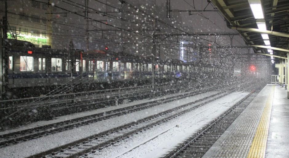 Tokio cierpi przez intensywne opady śniegu