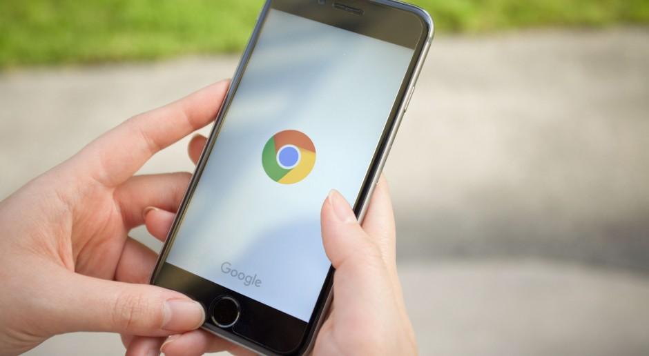 Błąd aktualizacji przeglądarki Chrome usuwa dane aplikacji na Androidzie