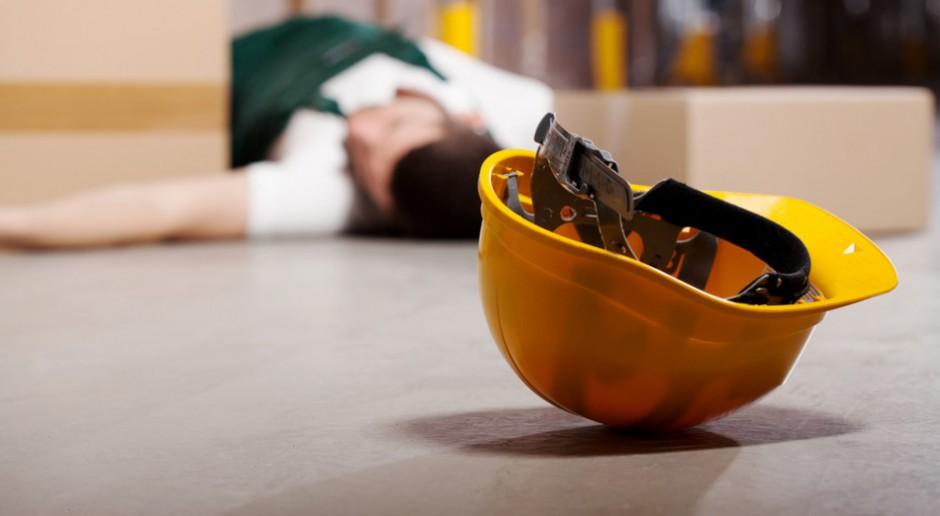 PIP: w 2017 r. więcej wypadków w pracy, ale mniej ze skutkiem śmiertelnym