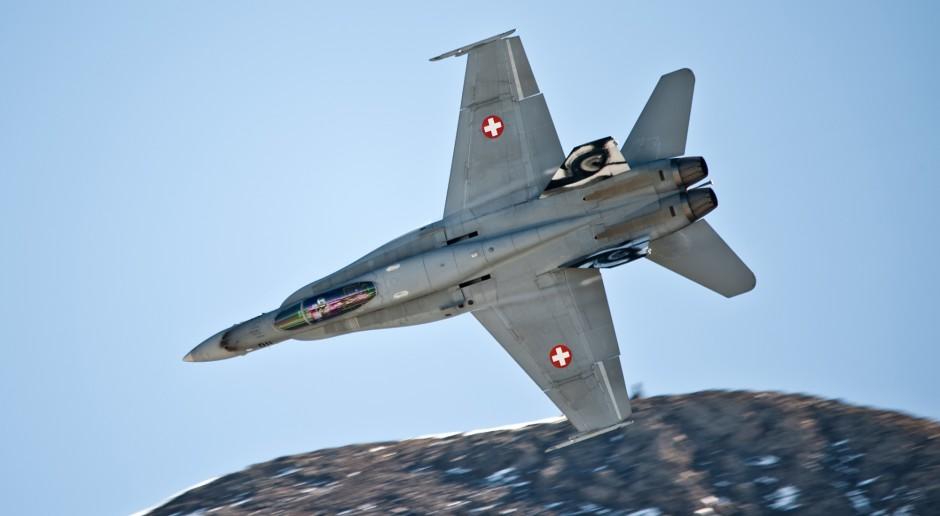 Szwajcaria wycofuje z użytku pięć myśliwców F/A-18