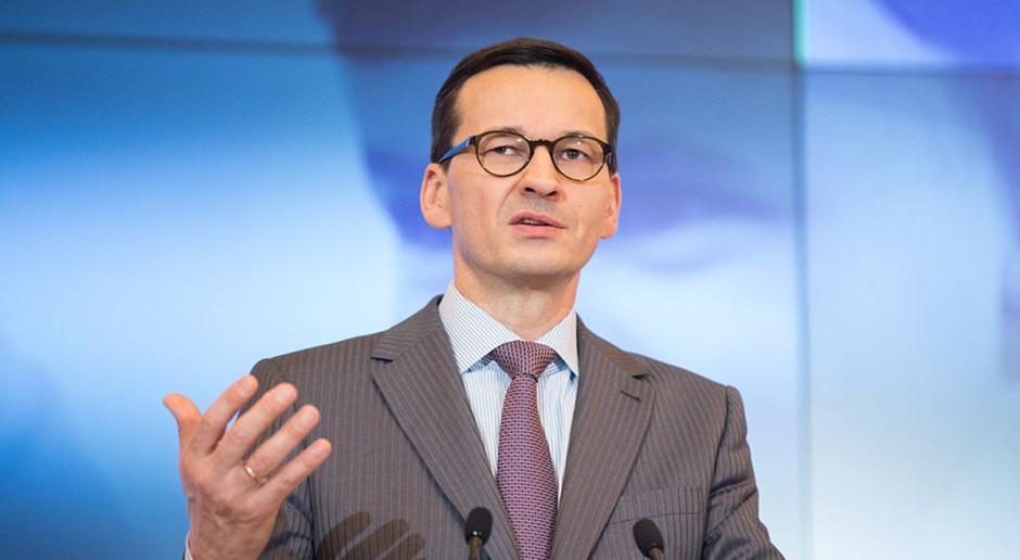 Mateusz Morawiecki: Mniejsze składki CIT i ZUS dla MŚP, nowe oferty socjalne