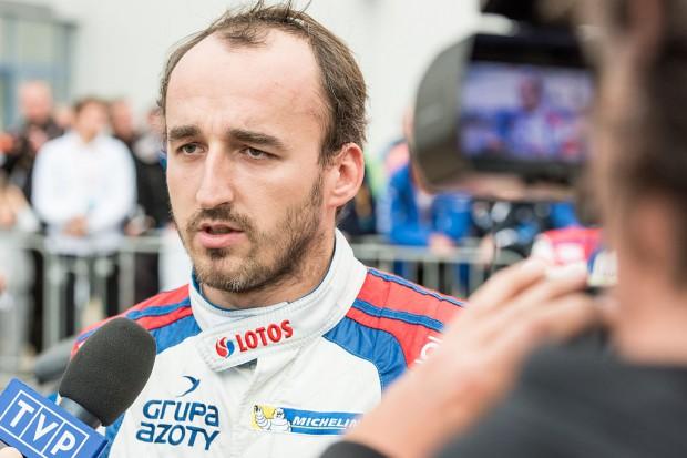 Robert Kubica. Fot. mat. pras.