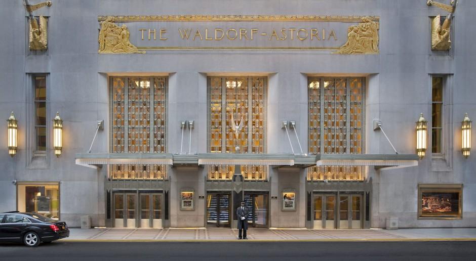 Hotel Waldorf Astoria w rękach chińskiego rządu