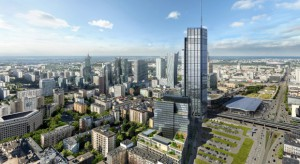 Potężne żurawie staną na budowach polskich wieżowców