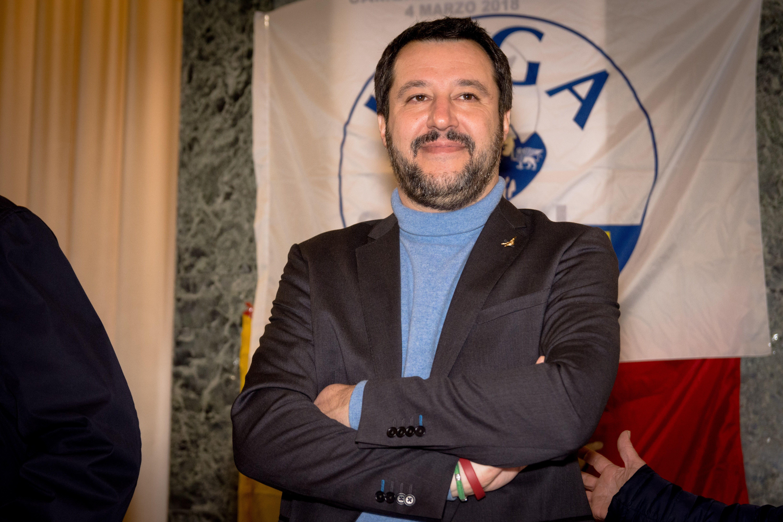 Matteo Salvini może zostać nowym premierem Włoch. (fot. Federico Vinci / Shutterstock.com)