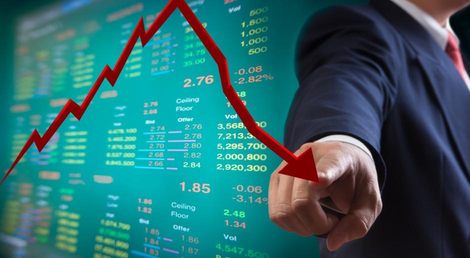 Na giełdzie drugi dzień mocnych spadków; trwa silna przecena producentów gier