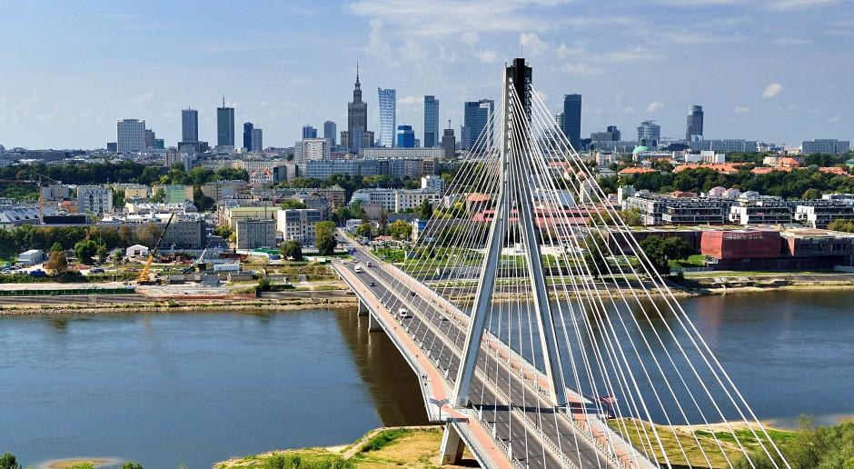 Warszawa regionalnym wiceliderem w segmencie usług biznesowych