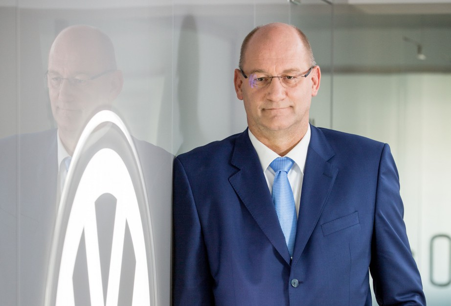 Jens Ocksen, prezes Volkswagen Poznań. Fot. Mat. pras.