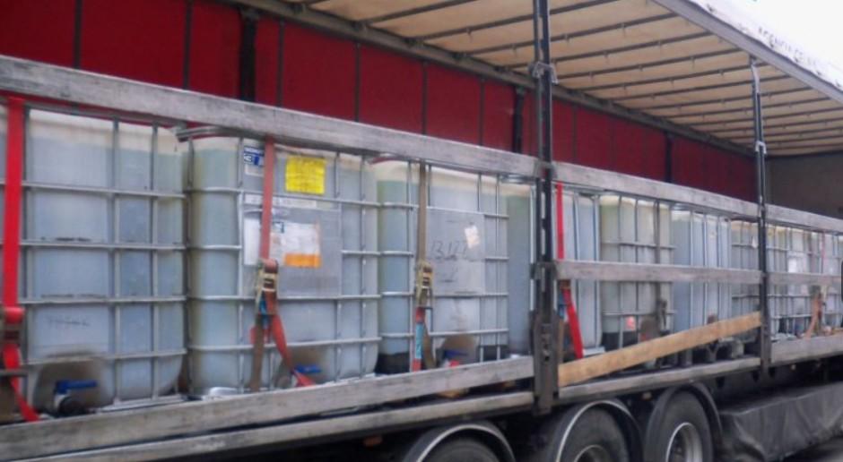 Tysiące litrów nielegalnego diesla nie trafią na Polski rynek