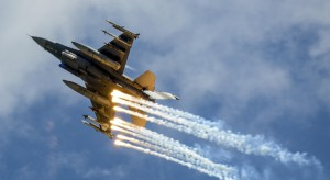 Ćwiczenia wojskowe u naszych sąsiadów. Na początek: elementy walk powietrznych