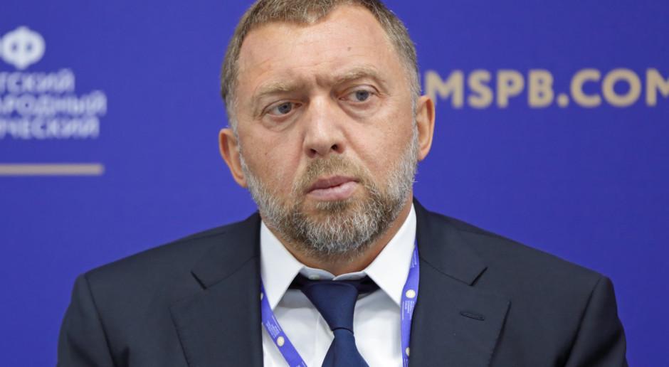 Wartość akcji En+ Deripaski spada po ogłoszeniu sankcji