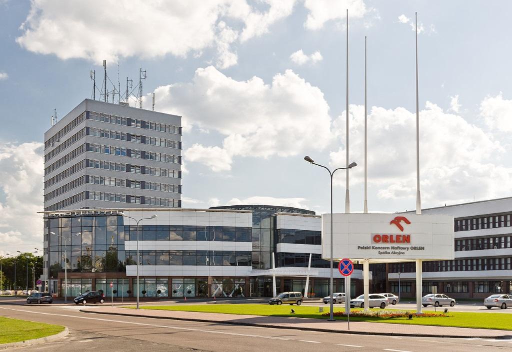 Centrala PKN Orlen w Płocku. Fot. Adam Kliczek, http://zatrzymujeczas.pl (CC-BY-SA-3.0)