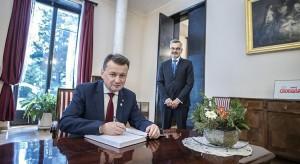 Mariusz Błaszczak szukał w Bułgarii możliwości dla naszego przemysłu