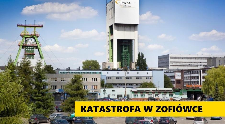 Trwa dramatyczna walka w kopalni Zofiówka. Wstrząs wtórny utrudnił akcję