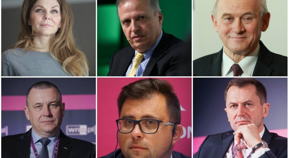 Minister Tchórzewski i prezesi największych firm energetycznych na EKG
