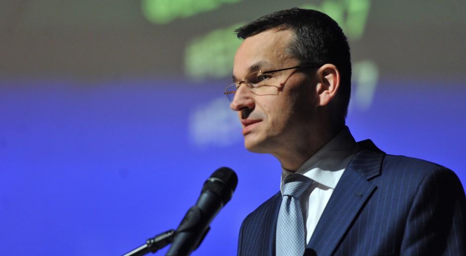 Morawiecki: niepodległość warunkuje rozwój gospodarczy, a ona umacnia suwerenność