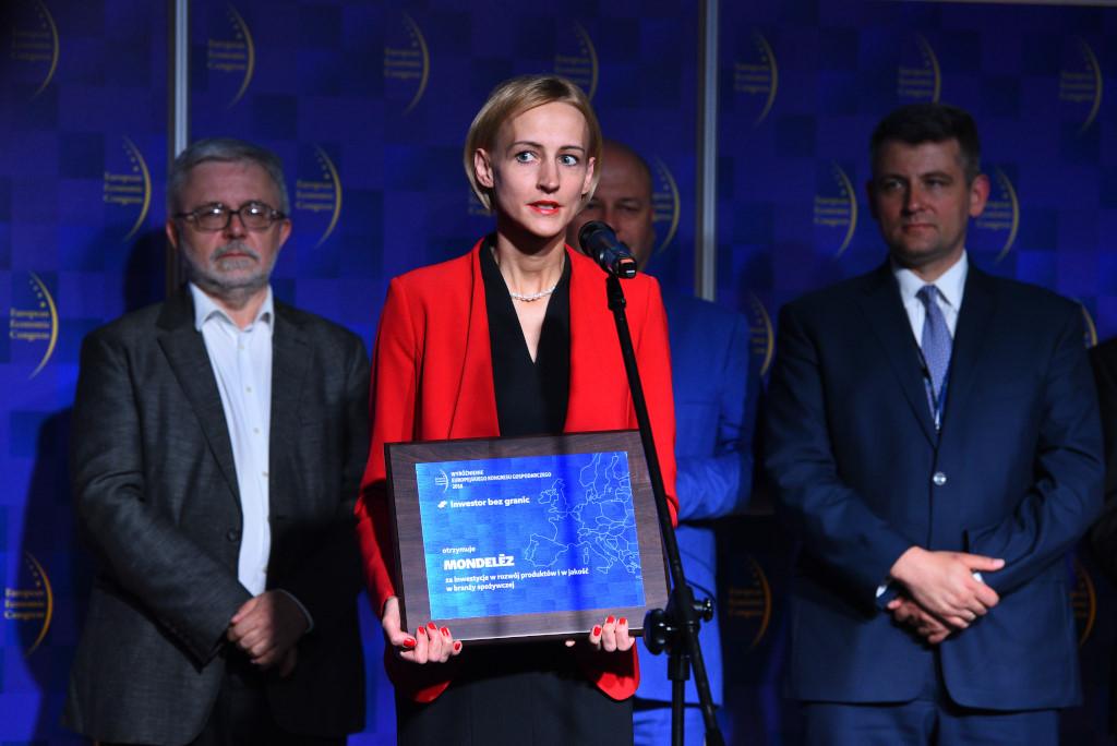 Katarzyna Jung, manager ds. Komunikacji i Relacji Zewnętrznych na Polskę i kraje bałtyckie Mondelēz International.
