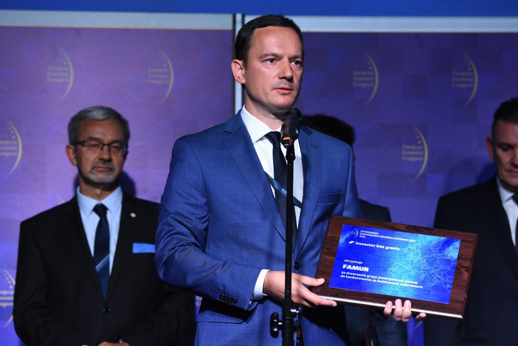 Bartosz Bielak, wiceprezesa firmy Famur.