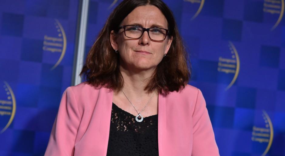 Komisarz ds. handlu UE grozi USA odwetem za cła na auta. To nas dotyczy i może zaboleć