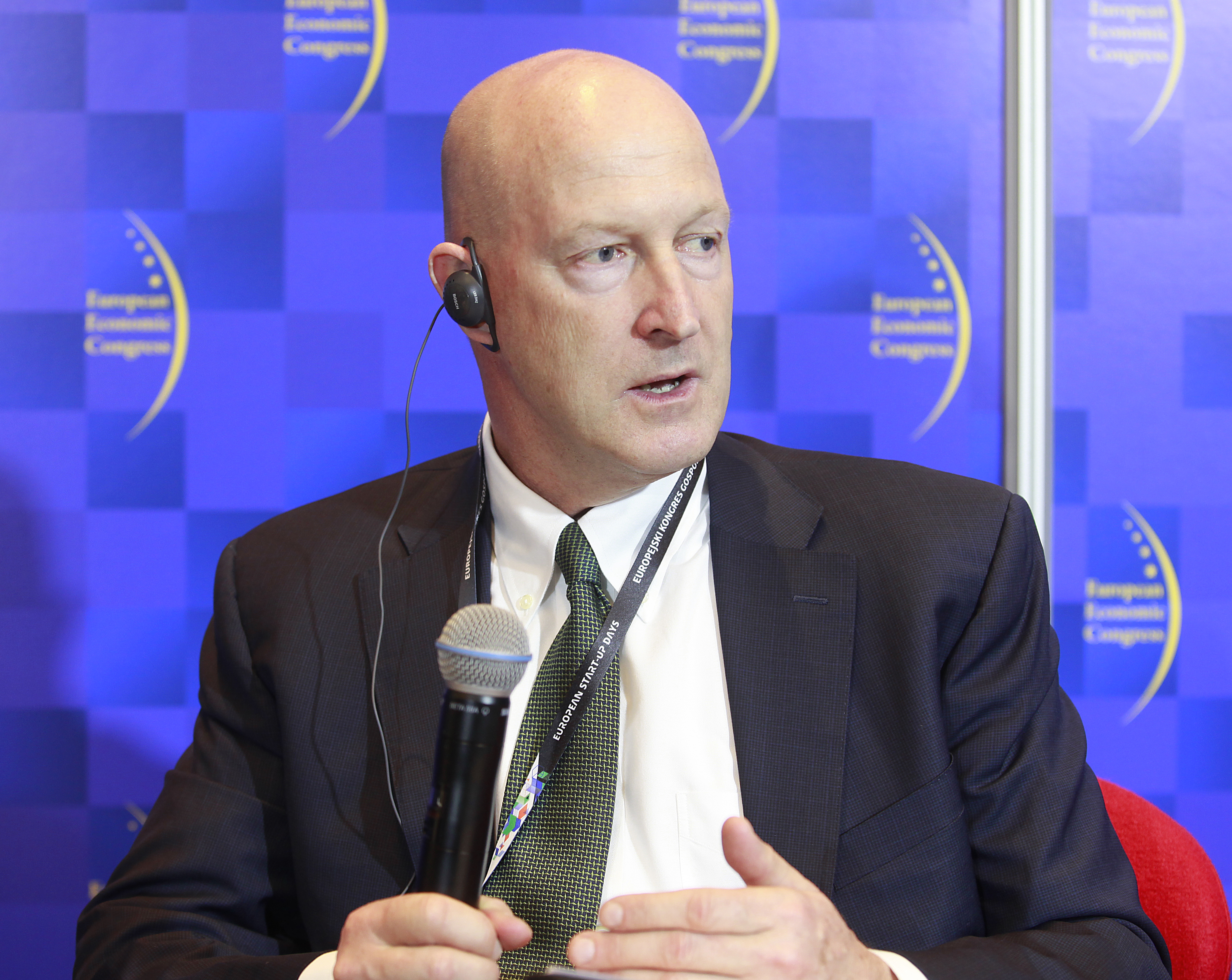 Ian Brzezinski, ekspert ds. polityki zagranicznej i spraw wojskowych. Fot. PTWP