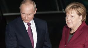 Putin i Merkel dalej będą wspierać budowę Nord Stream 2