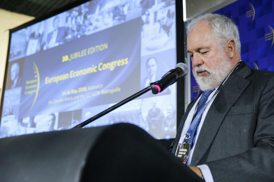 Miguel Arias Canete unijny komisarz ds. polityki klimatycznej i energetycznej (fot. PTWP)