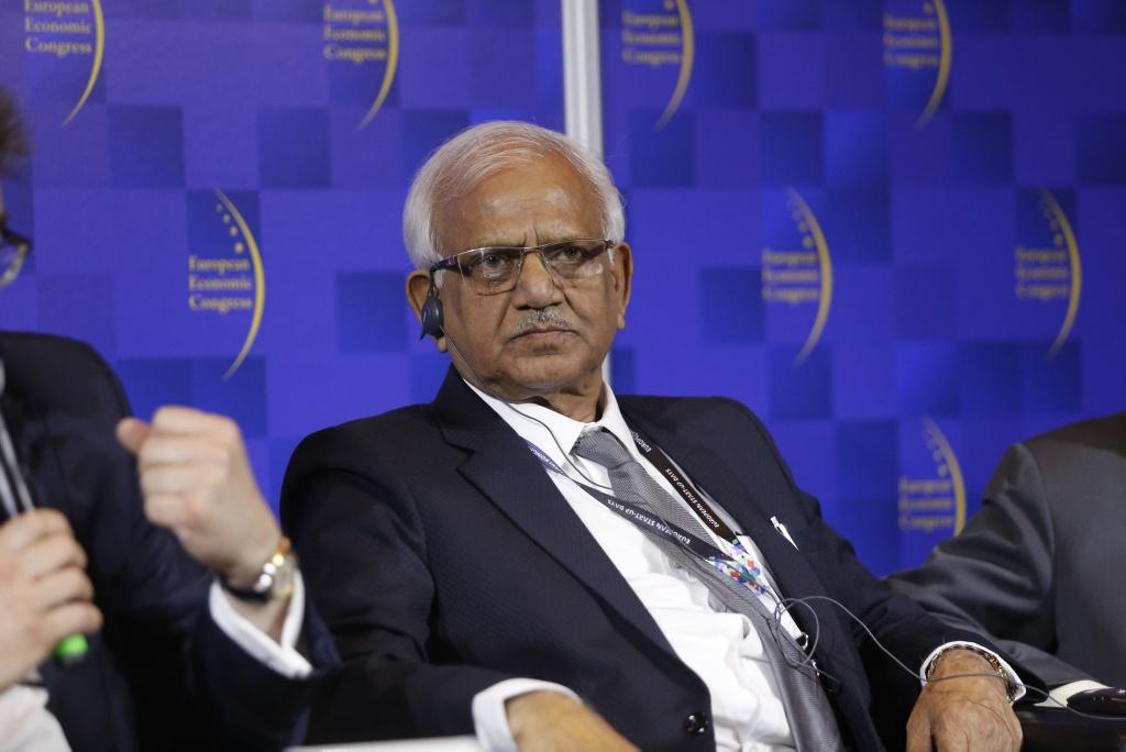 Sobhandeb Chattopadhyay wskazywał m.in. na zacieśniającą się współpracę z Głównym Instytutem Górnictwa. Fot. PTWP