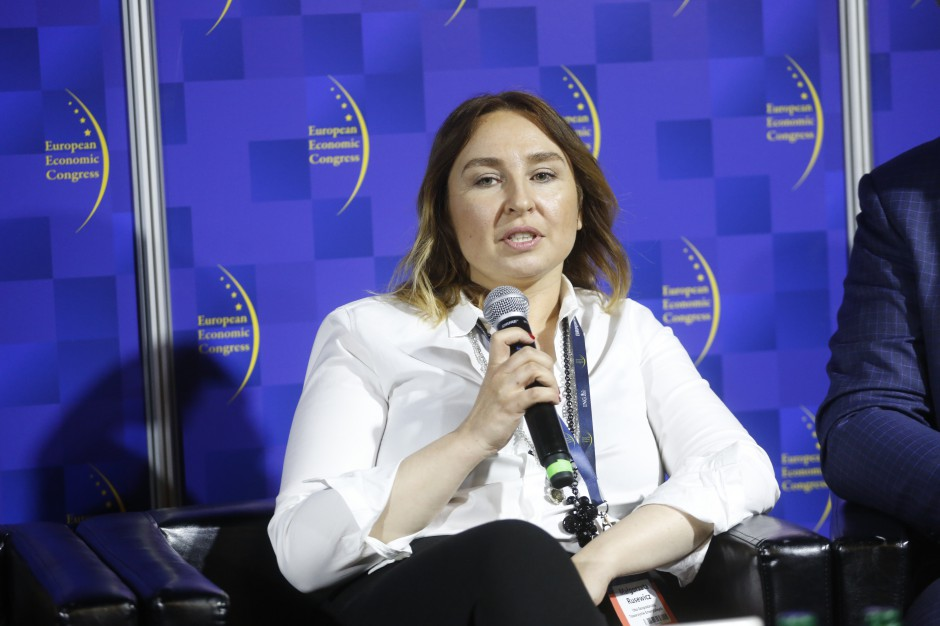 Małgorzata Rusewicz, prezes Izby Gospodarczej Towarzystw Emerytalnych, fot. PTWP