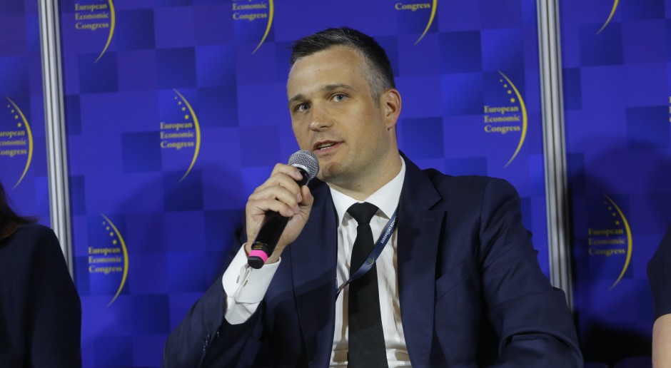 Maciej Łysiuk, dyrektor zarządzający sektorem instytucji finansowych w ING Banku Śląskim, fot. PTWP