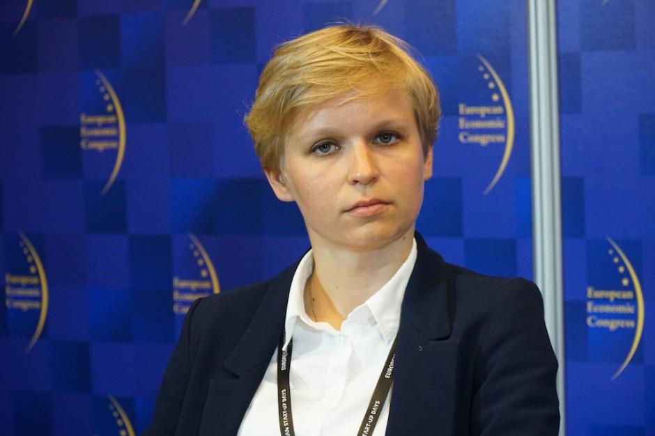 Emilia Głozak, starszy specjalista w Departamencie Innowacji i Rozwoju Technologii Ministerstwa Energii (fot. PTWP)