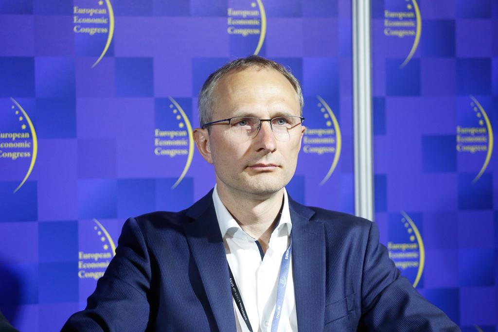Rafael Świąder, zastępca dyrektora, Oddział Obrotu Hurtowego, dyrektor Departamenut Zarządzania Portfelem w PGNiG. Fot. PTWP.