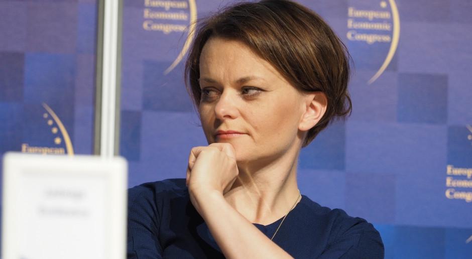 Jadwiga Emilewicz: energetyka największym wyzwaniem dla rządu
