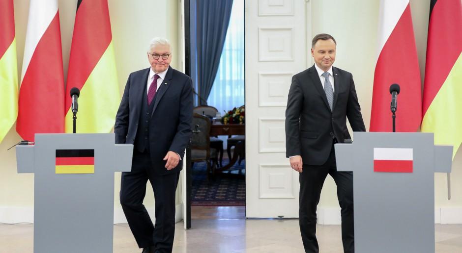 Andrzej Duda z prezydentem Niemiec o Nord Stream 2