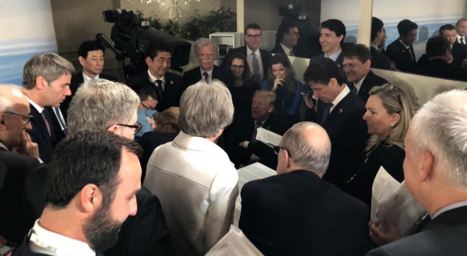 KE przypomina Trumpowi po szczycie G7, że należy dotrzymywać umów