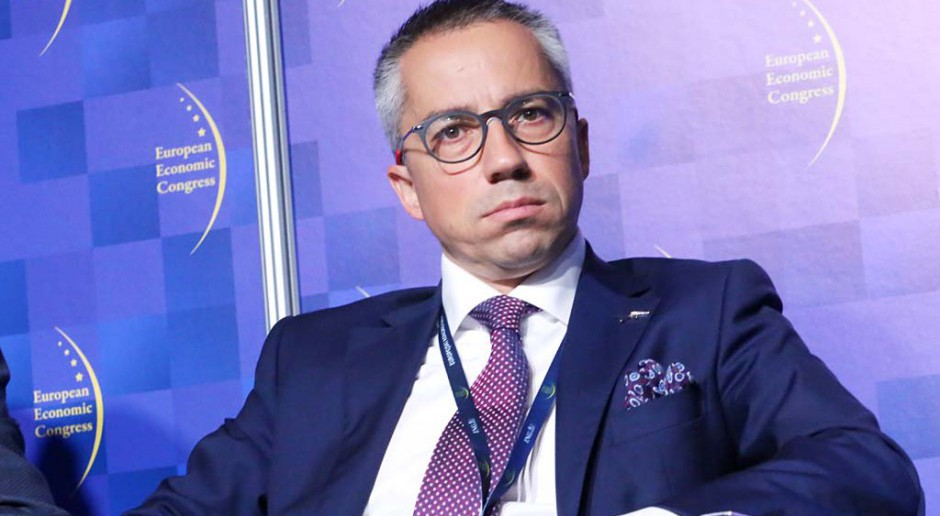 Tomasz Plaskura, prezes ArcelorMittal FCE Poland. fot. PTWP