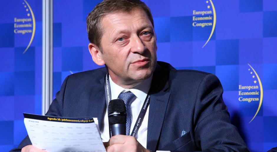 Janusz Smołka, prezes Konsorcjum Stali. fot. PTWP