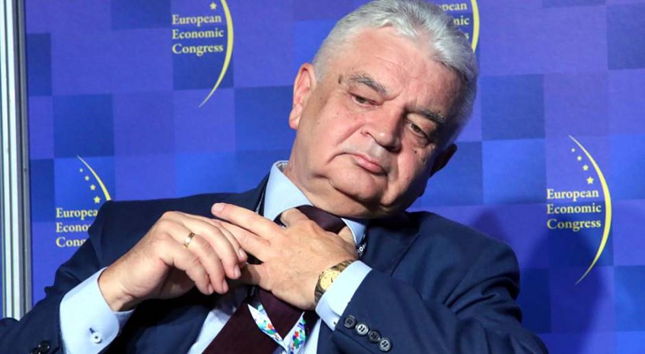 Jerzy Bernhard, prezes Stalprofilu. fot. PTWP