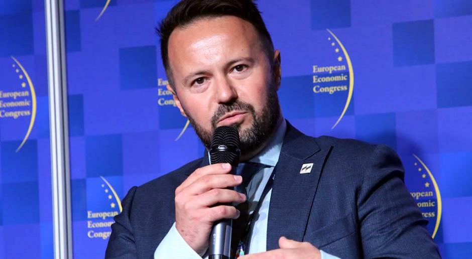 Jakub Gróbarczyk, prezes spółki Serwistal. fot. PTWP
