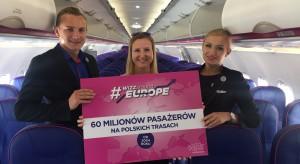 Tania linia lotnicza przewiozła już 60 mln Polaków