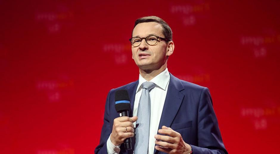 Mateusz Morawiecki: eksport rośnie szybciej niż PKB Polski