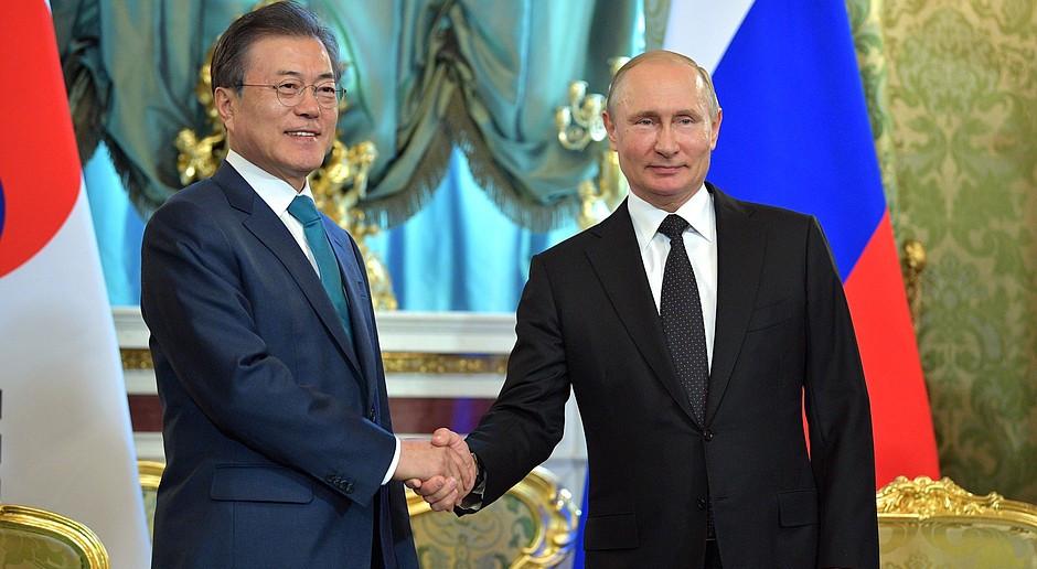 Rosja chce przyciągać inwestycje i technologie z Korei