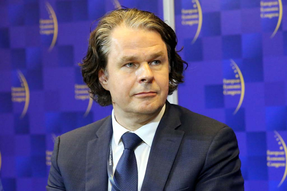 Artur Resmer, członek zarządu PKP Intercity. Fot. PTWP