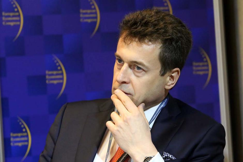 Krzysztof Kuniewicz, dyrektor zarządzający Siemens Finance.Fot. PTWP