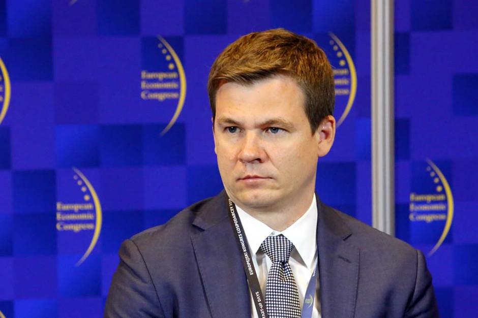 Marcin Piasecki, wiceprezes zarządu ds. inwestycyjnych Polskiego Funduszu Rozwoju. Fot. PTWP
